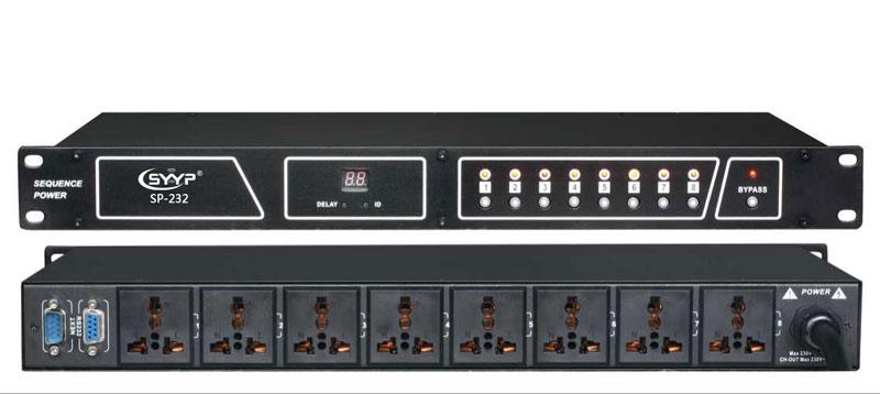 sp-232八路电源时序器